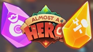 BEST ARTIFACTS?! Almost A Hero - Tips