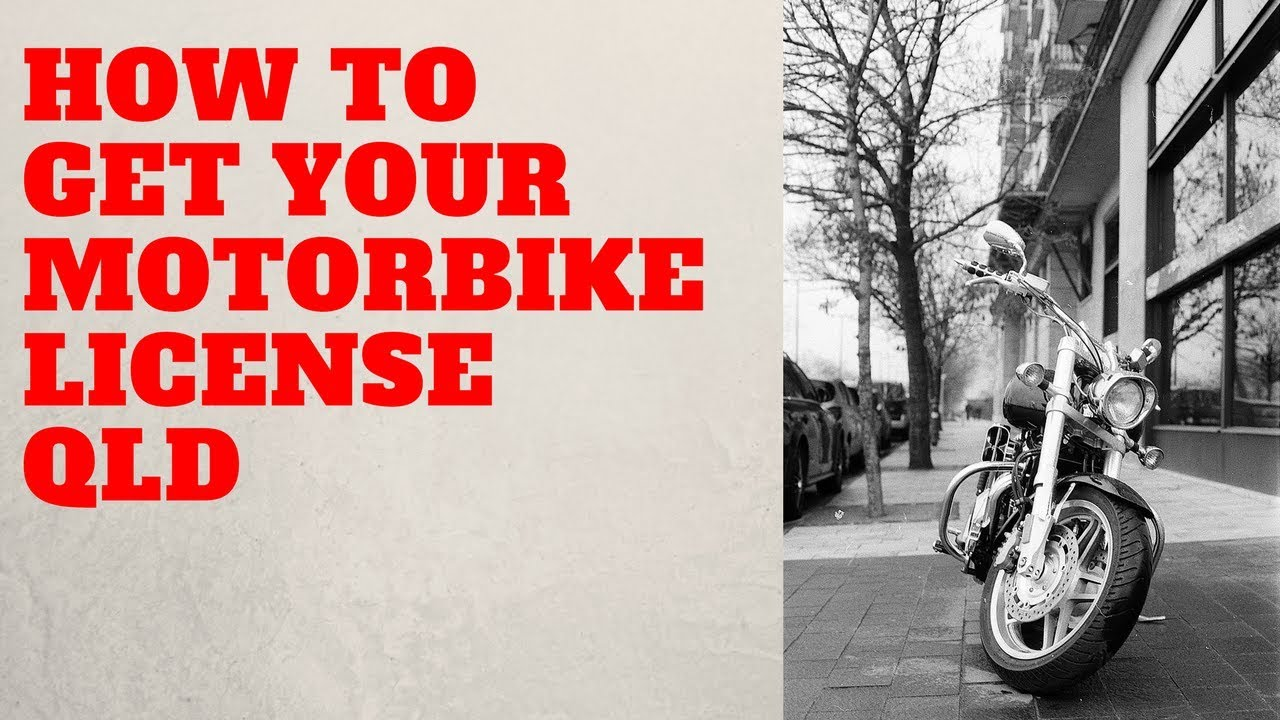 how to get a motorbike licence in wa