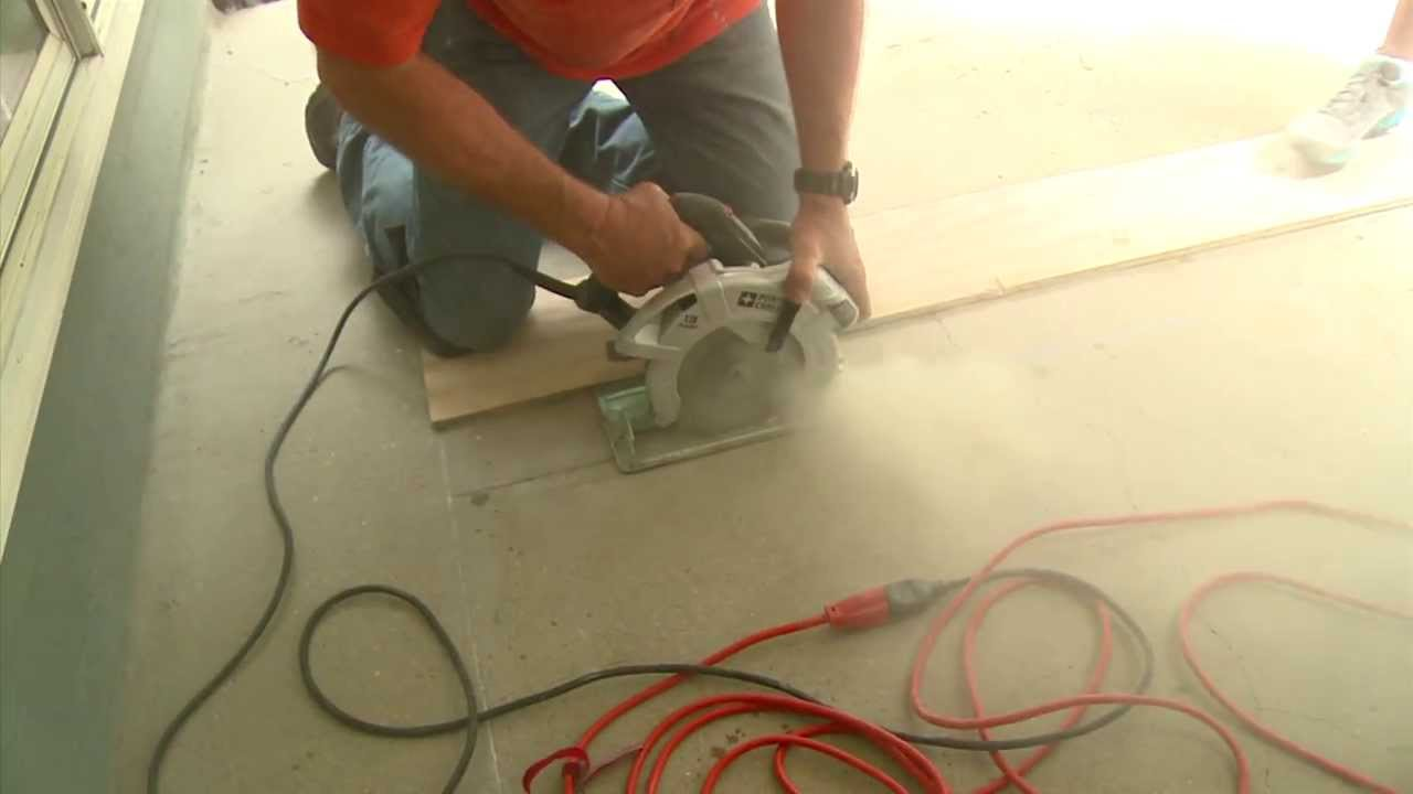How To Cut Concrete For A Decorative Patio   YouTube