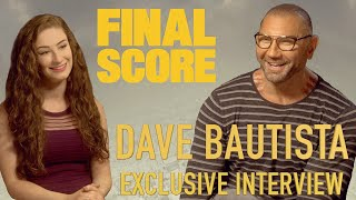 Funny Football Phrases with Dave Bautista! | Amber Doig-Thorne