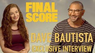 Dave Bautista Teaches Me Football Lingo! | Amber Doig-Thorne