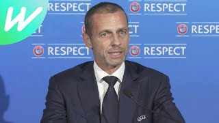 FULL Statement from UEFA President on European Super League | 2020/21 | News