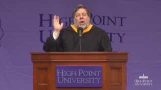 Steve Wozniak | High Point University Commencement 2013 | Best North Carolina Colleges