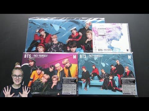 Unboxing BTS 防彈少年團 3rd Japanese Studio Album FACE YOURSELF [Set: Type B, C & Normal Edition]