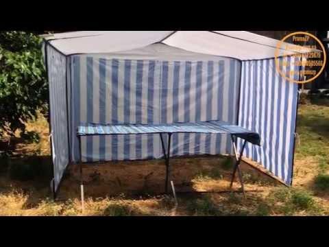29 мар 2014. Торговые палатки, простое решение для организации выносной торговли, торговли на стихийных рынках. Размер палатки для торговли 2х2 метра, вполне достаточный для того чтобы ней находился реализатор или промоутер, небольшой стол, и продукция. Торговая палатка – это.