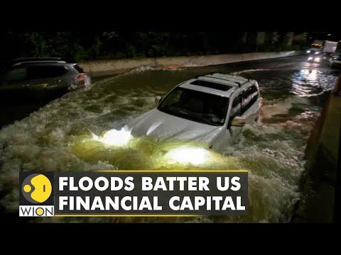 Floods Batter United States financial capital New York | Latest World English News | WION News