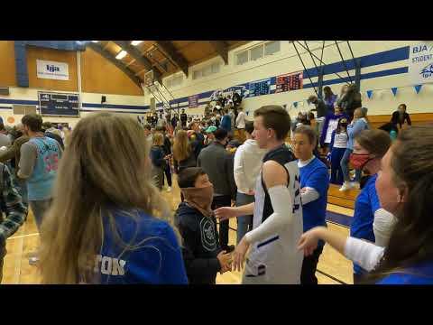 Bob Jones Academy - Varsity Boys Basketball - Senior Night - February 5, 2021 - 14 of 15