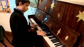Музыка Ангелов на пианино Максим Остапук!