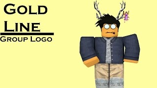 Gold Line Fashion GFX || Roblox Speed Art