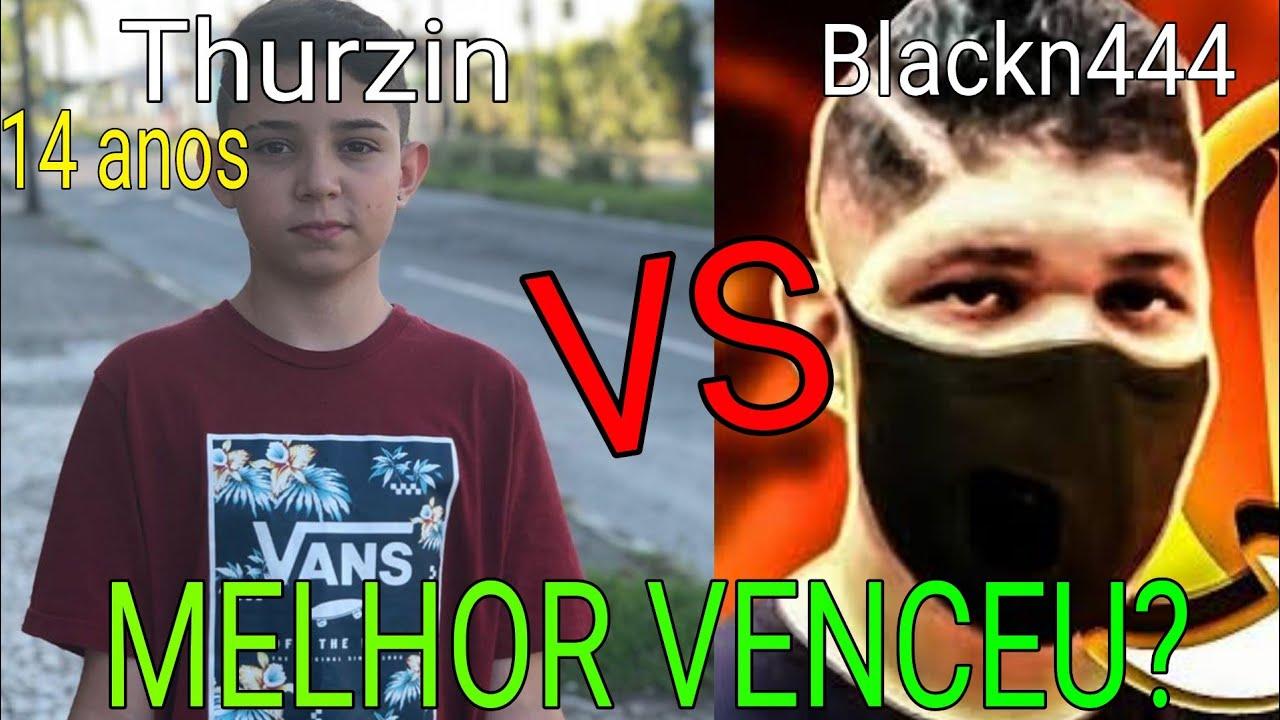 BLACKN444 AMASSOU THURZIN EM LIVE - MAIORES PROPLAYERS MUNDO FRENTE A FRENTE BLACKN444 vs THURZIN