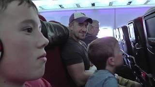 Florida 2017 Day 2 - Travel day - Flying to Orlando