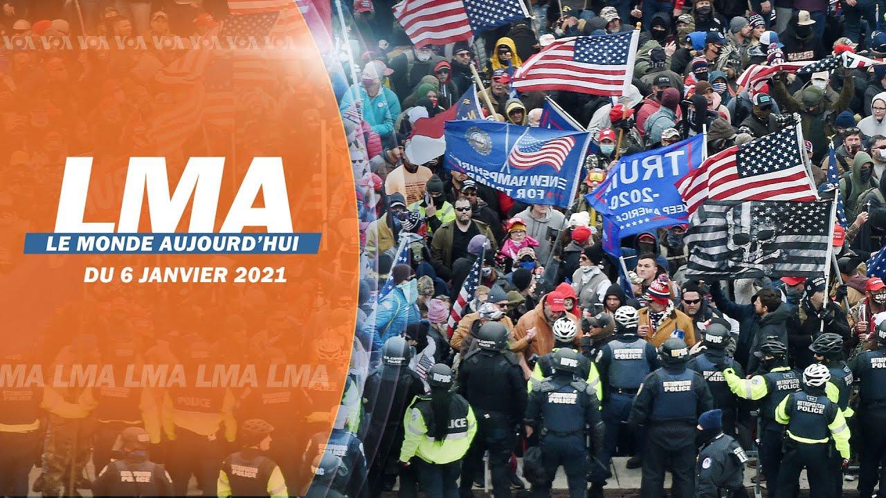 Le Monde Aujourd'hui du 6 janvier 2020 #USA #Elections #Georgia