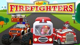 Nick Jr Firefighters - Paw Patrol Bubble Guppies Blaze and The Monster Machines