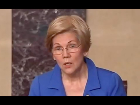 Elizabeth Warren Told to Sit Down! SILENCED! 2/8/17