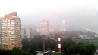 Штормовое предупреждение в Москве (23.05.2013)
