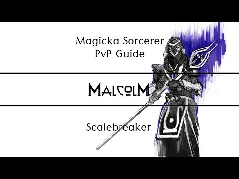 Repeat ESO - The Scalebreaker Guide to Magicka Sorcerer PvP