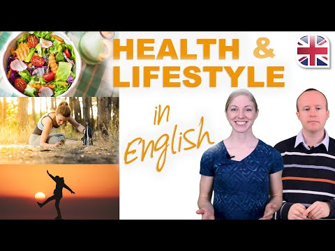 Talk About Health and Lifestyle in English - Spoken English Lesson