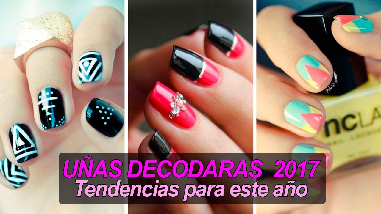 Uñas Decoradas 2017 Tendencias Para Este Año Youtube