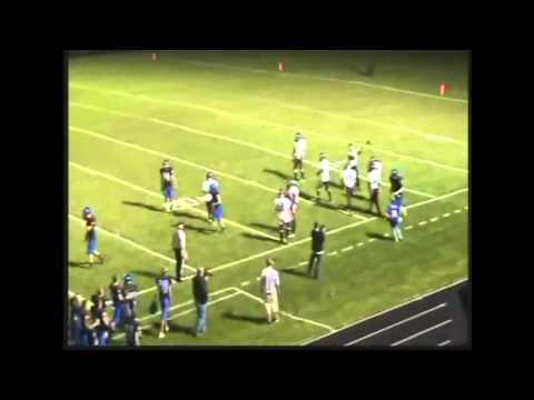 Brock Zeller #4 Quarterback 2012 Senior Highlight Film