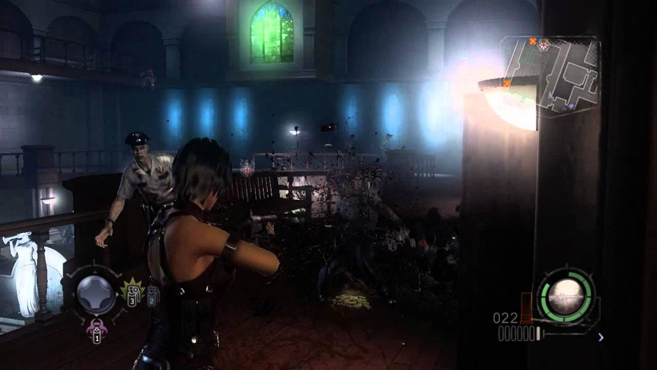 Resident Evil Operation Raccoon City Ada Wong Gameplay Youtube