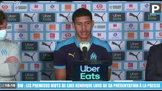 """OM : """"C'est un rêve de venir jouer ici"""", les premiers mots de Luis Henrique"""