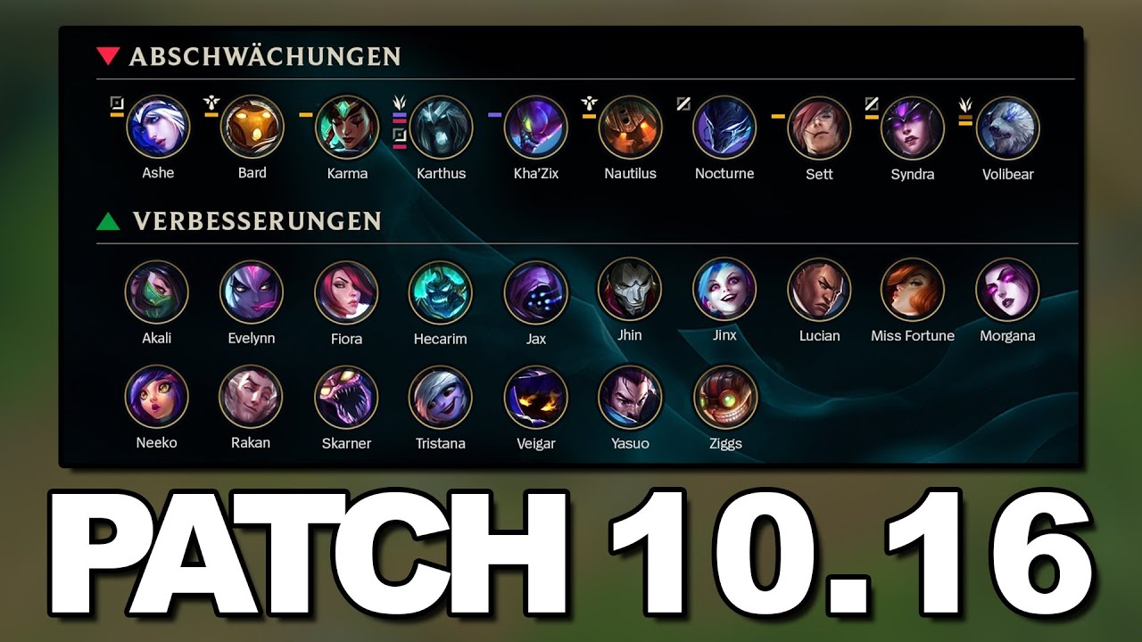 Patch 10.16 Rundown | Der Mega Patch [Deutsch]