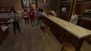 Симулятор пьяной драки. (За кадром) Drunkn Bar Fight. HTC Vive.+18