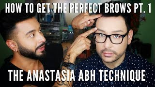 How to Get the Perfect Brows from the Brow Master Anastasia Beverly Hills Pt. 1 | mathias4makeup