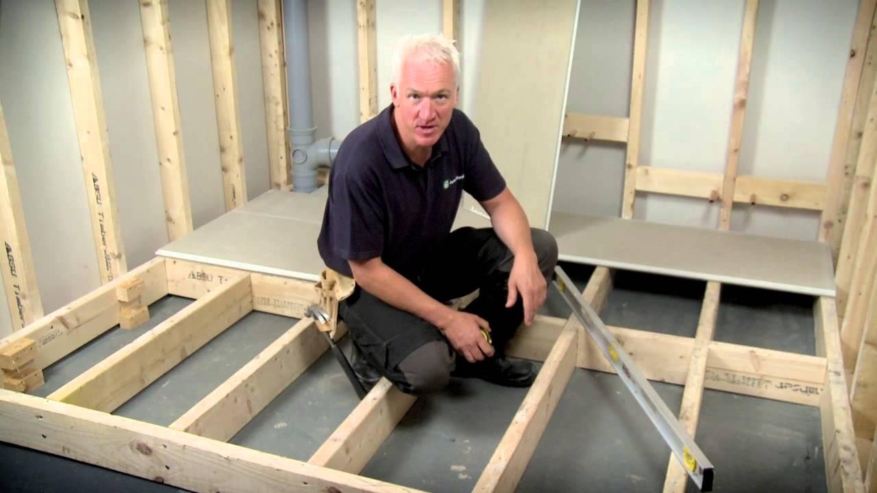 Hardiefloor 174 Structural Interior Flooring Installation