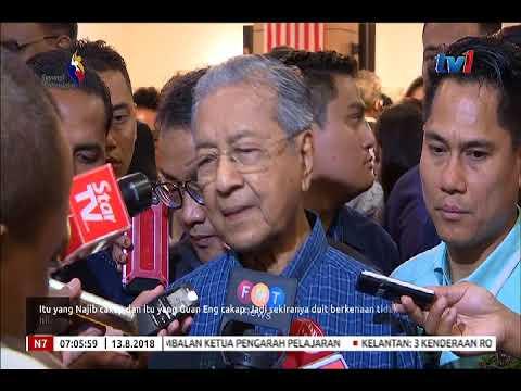 RM18 BILION GST TIDAK HILANG – TUN M CABAR DATUK SERI NAJIB KEMUKA BUKTI [13 OGOS 2018]
