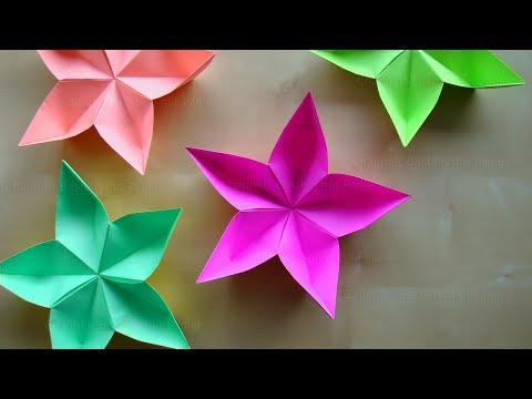 Easy Origami Kusudama Flower - YouTube | 360x480