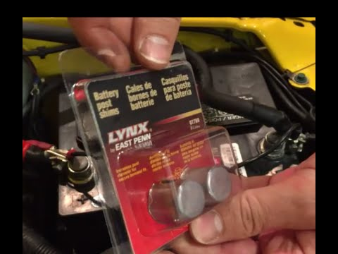 Golf Cart Charger Wiring Diagram How To Fix A Loose Battery Connection Youtube