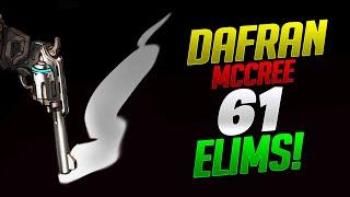 Dafran Mccree 61 Elims! - Overwatch