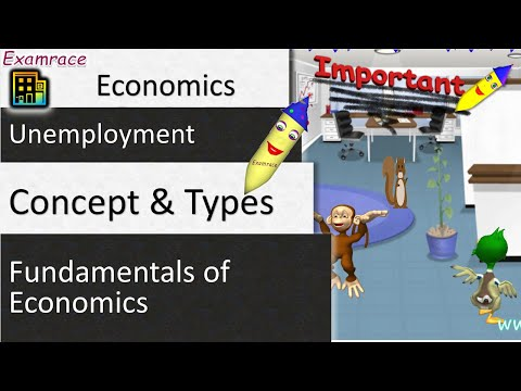 Unemployment and its Types: Fundamentals of Economics