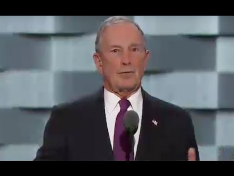 Former NYC Mayor Michael Bloomberg, who owns an estate in North Salem, speaks Wednesday night at the Democratic National Convention.