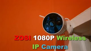 ZOSI 1080P Wireless  IP Camera…