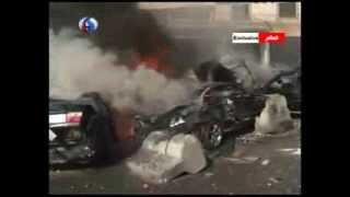 فيديو حصري لقناة العالم عن انفجار بئر حسن جنوب بيروت