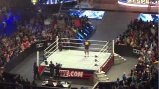 John Scena - WWE RAW 2013 (Tampa Bay Times Forum)