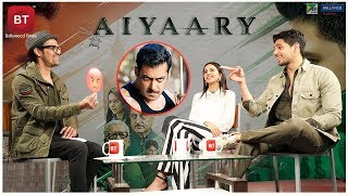 Aiyaary Movie Actor Sidharth Malhotra Calls Salman Khan Angry, Know Why