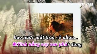 [Karaoke] Kiếp Này Chỉ Vì Nhau - Kim Ny Ngọc, Mr Bim (full beat)