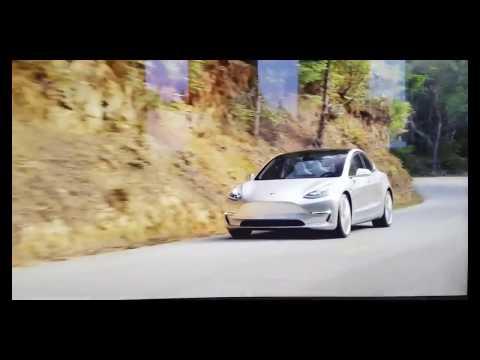 Tesla Model 3 Promotional Video