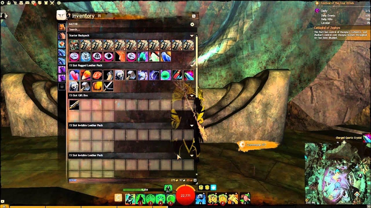 Guild Wars 2 : How to transform 25 Quartz Crystals into a ... Quartz Crystal Gw2