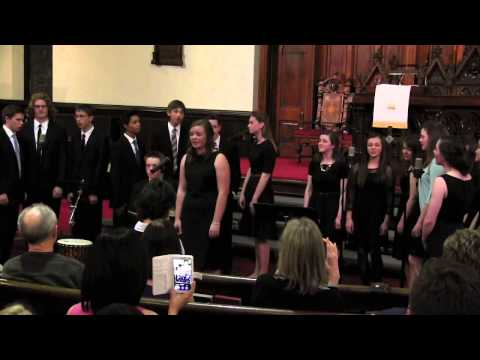 Mars Hill Academy Spring Concert 2015 - Lean On Me