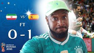 Iran vs Spain 0-1 Reaction | Team Melli Still In It!!!!