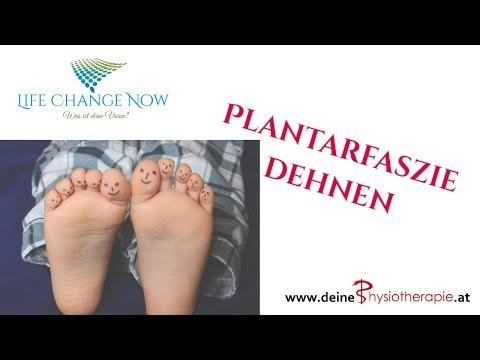 Plantarfaszie dehnen