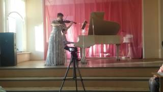 """Е.Дога Вальс """"Мой ласковый и нежный зверь"""" для Фортепиано и Скрипки"""