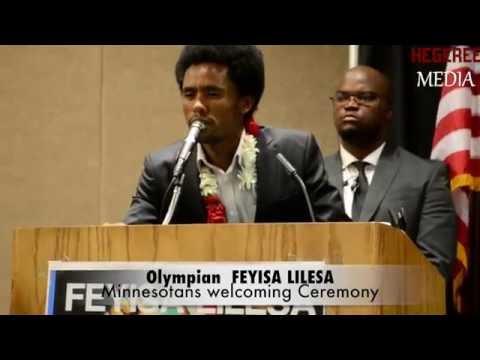 Feyisa Lilesa RIO Olymipian