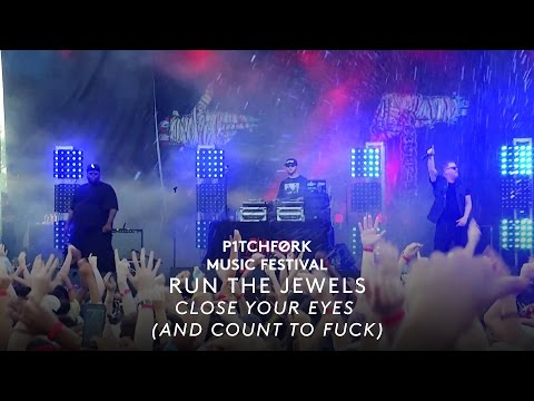 """Run The Jewels - """"Close Your Eyes (And Count To Fuck)"""" ft. Zack De La Rocha - Pitchfork Fest 2015"""