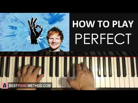 HOW TO PLAY - Ed Sheeran - Perfect (Piano Tutorial Lesson)