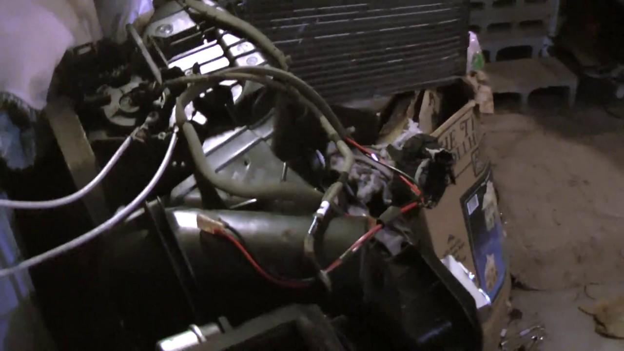2001 Chrysler Pt Cruiser Air Conditioning Evaporator